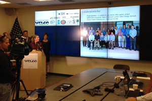 Weather Analytics Center press conference