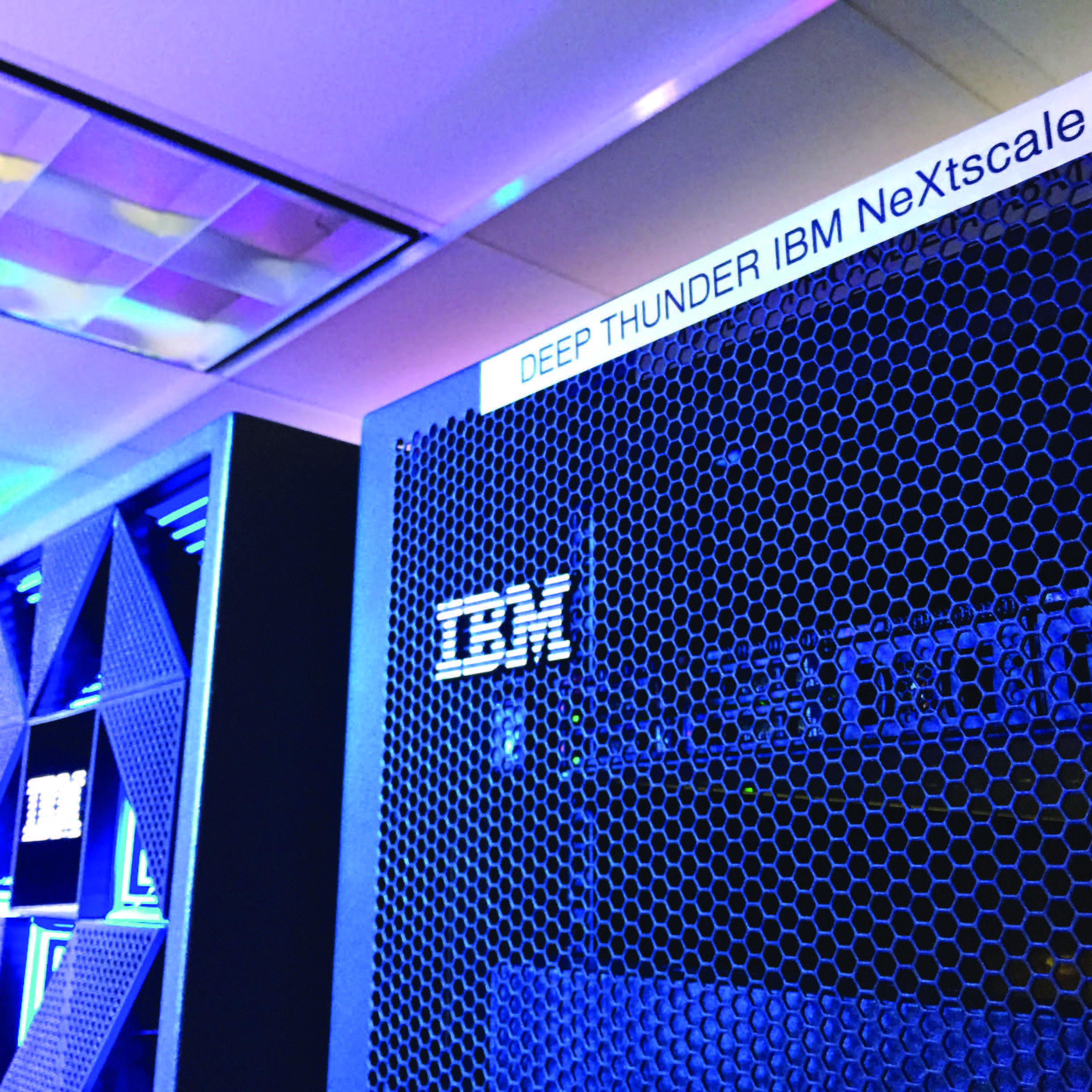 IBM server running Deep Thunder
